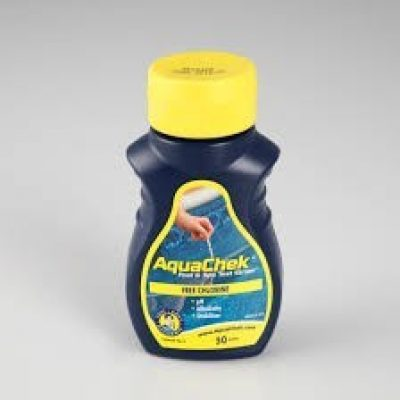 TROUSSE AQUACHEK JAUNE CL/PH